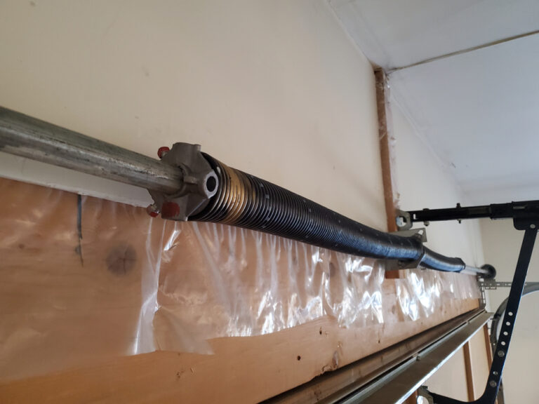 Garage Door Spring Replacement